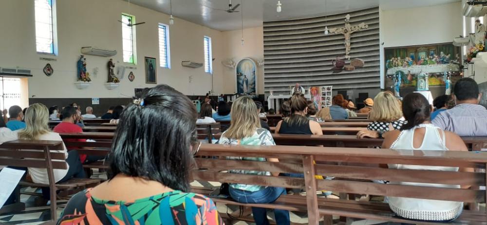 Missa de Manoel Almeida. Foto: Roberto Gonçalves