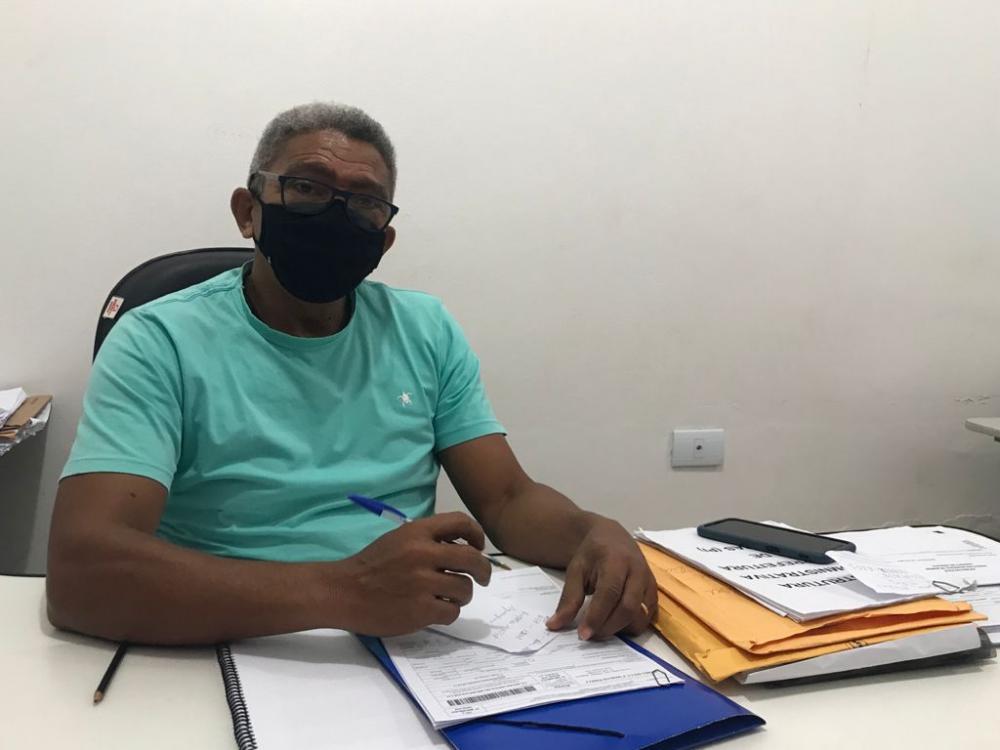 Professor Francisco Luís, controlador do município