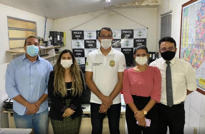 Novos delegados da Polícia civil assumem a delegacia em Barras PI