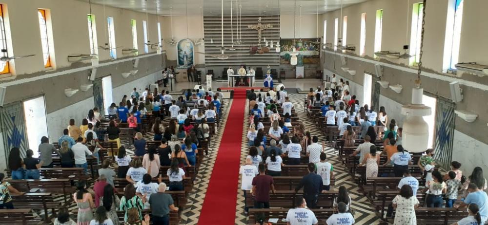 Linda celebração religiosa marca aniversário de 180 anos de Barras