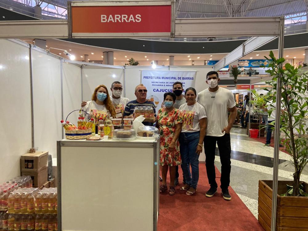 Produtos de Barras são destaque na Feira Expocaju, no Riverside